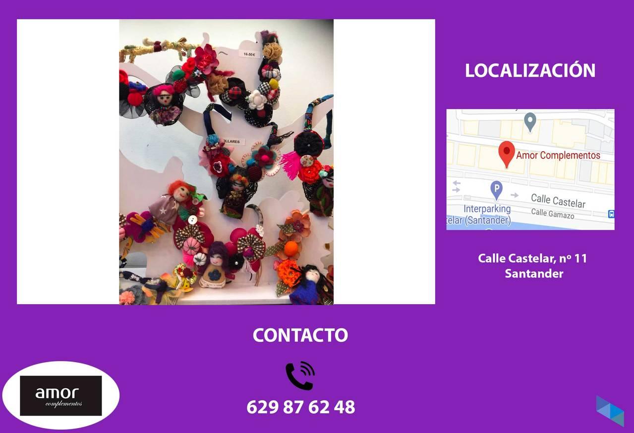 """Exclusive craft necklaces"" Amor complementos"