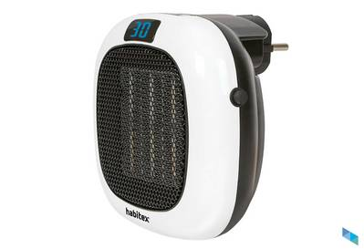 """Ceramic heater ideal for your bathroom at an incredible price"" The Tool Box"