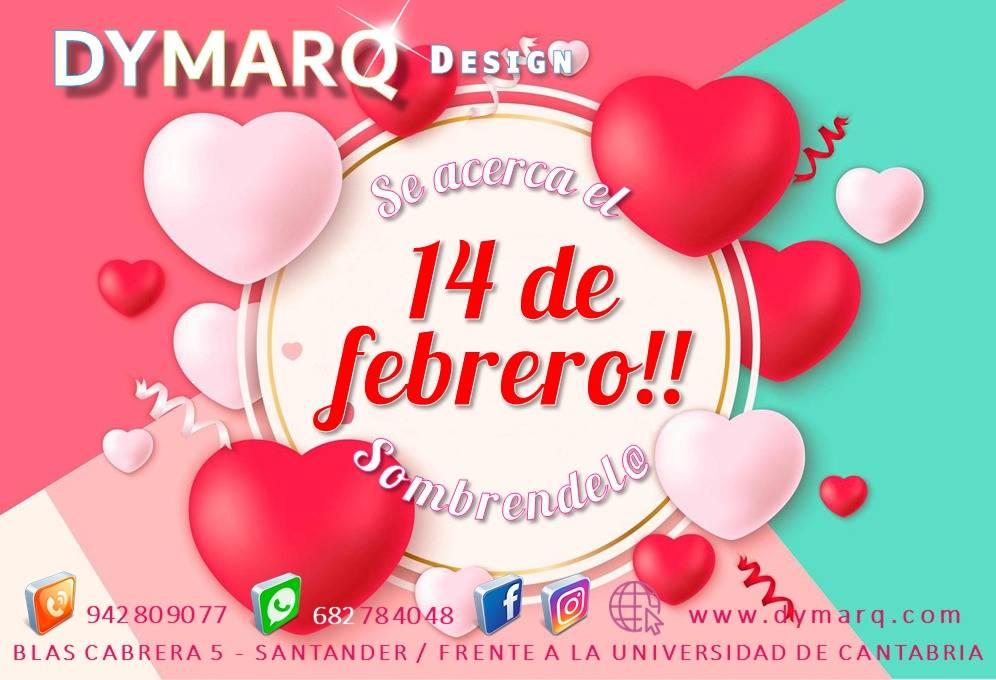 """Enjoy Valentine's Day"" Dymarq Design"