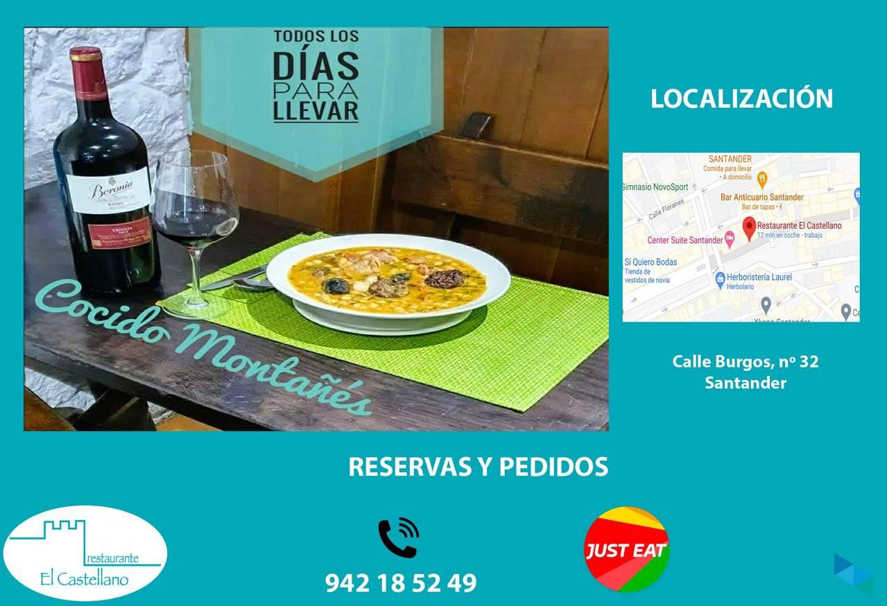 """""""Every day Cocido Montañes"""" El Castellano Restaurant"""