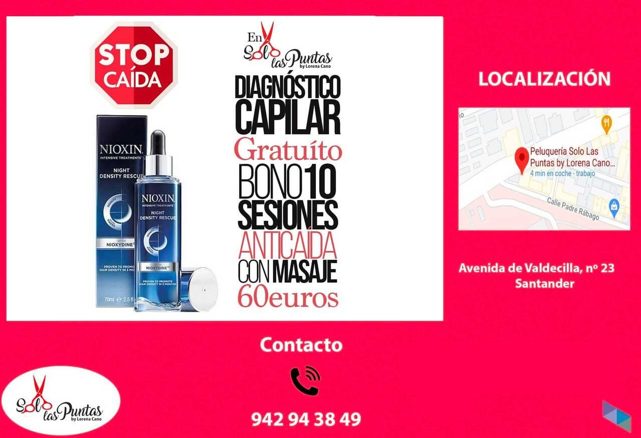 """""""Stop hair loss"""" Solo Las Puntas By Lorena Cano"""
