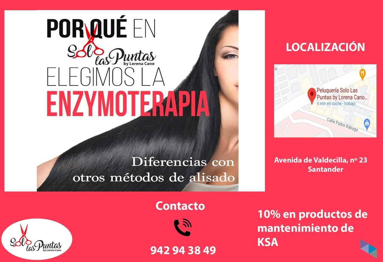 """""""Enzymoterapia"""" Solo Las Puntas By Lorena Cano"""