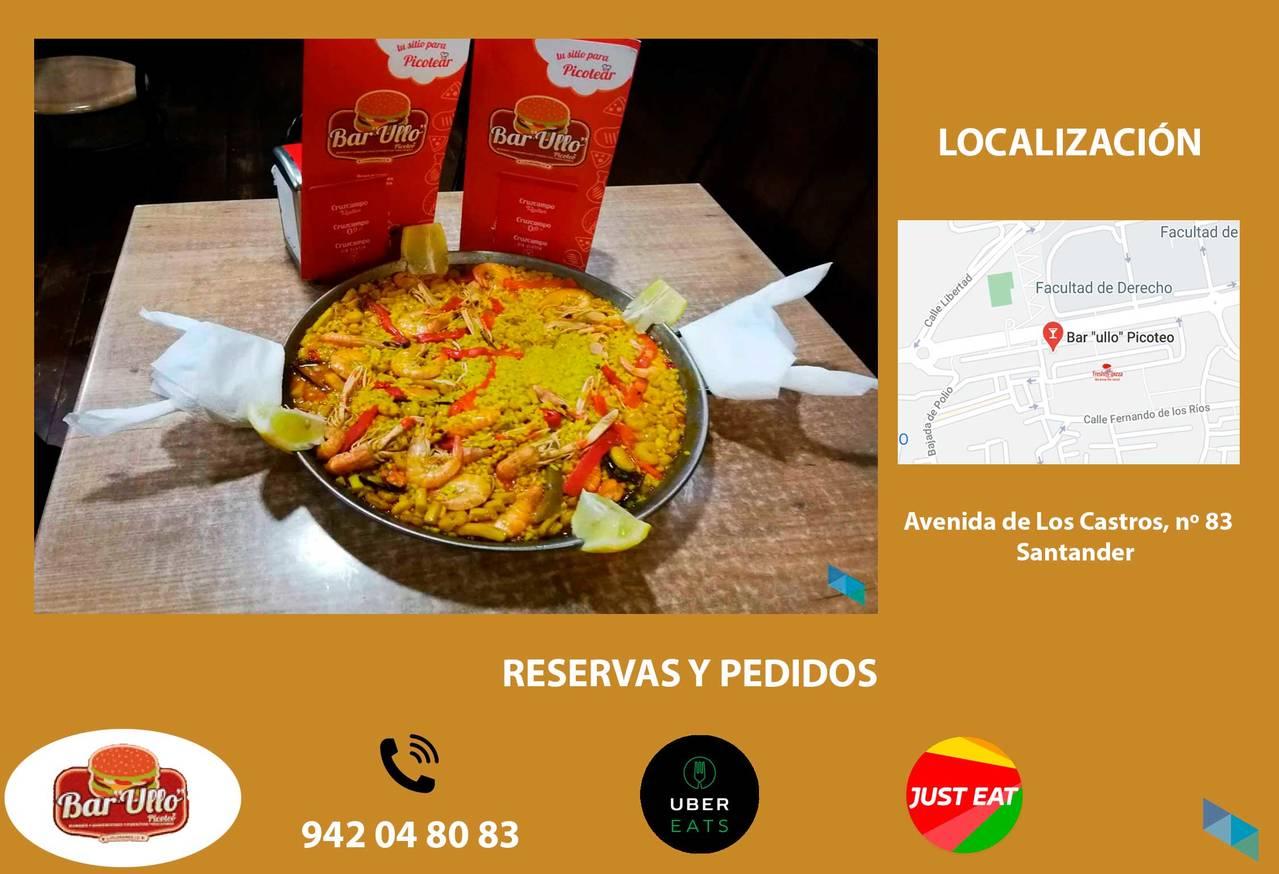 """Enjoy our incredible paella - Bar """"Ullo"""""""