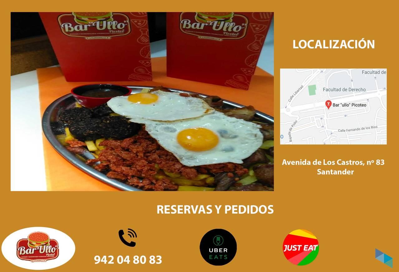 """Enjoy our delicious Table Tierra - Bar """"Ullo"""""""