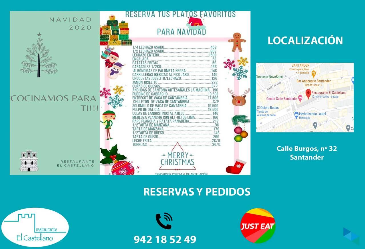 """This Christmas we cook for you"" Restaurante El Castellano"