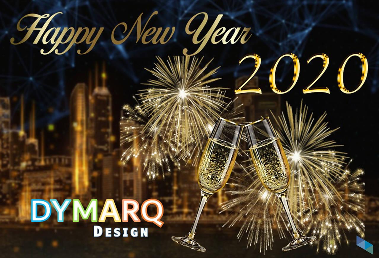 """""""Happy 2020"""" Dymarq Design"""