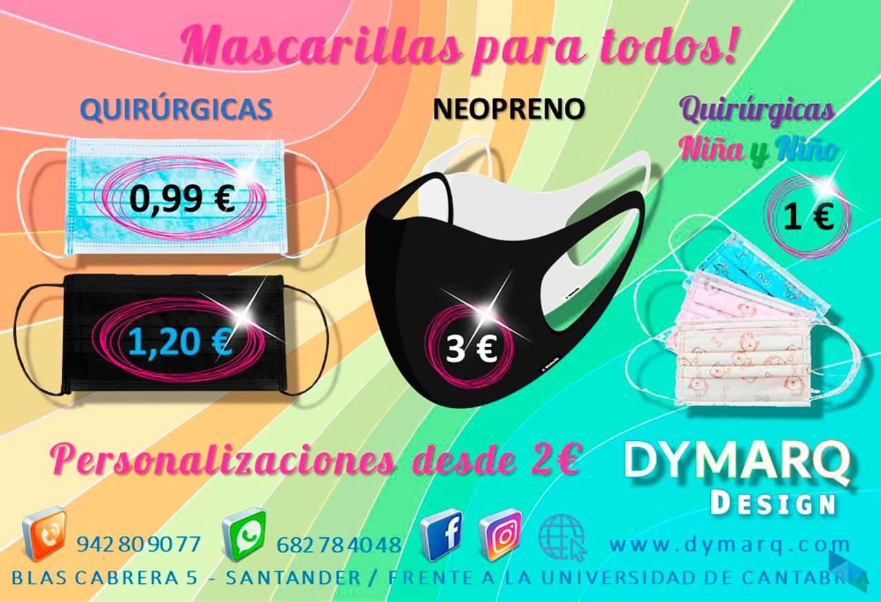 """Masks for everyone"" Dymarq Design"
