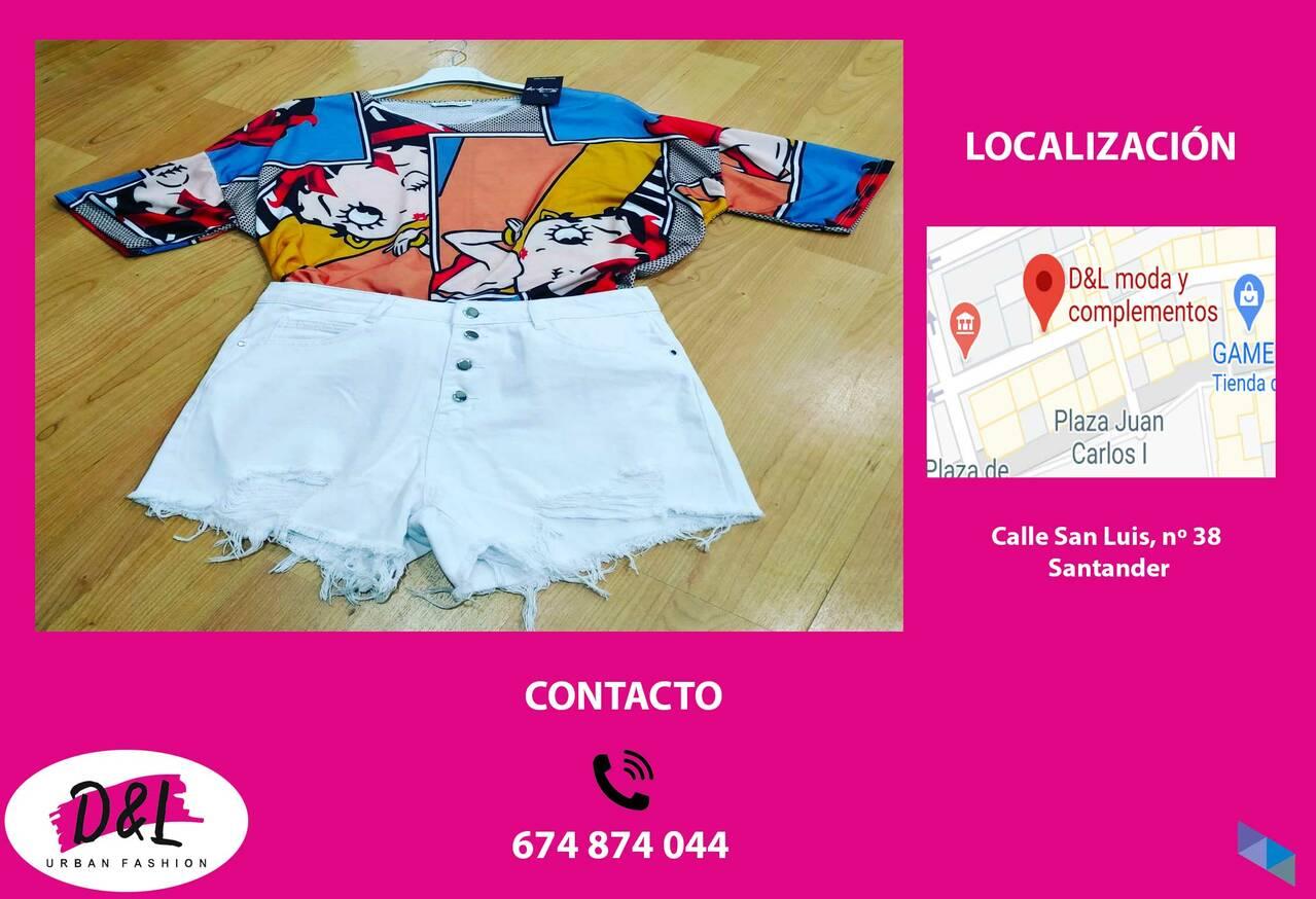 """""""T-shirt + Short"""" D&L Moda"""