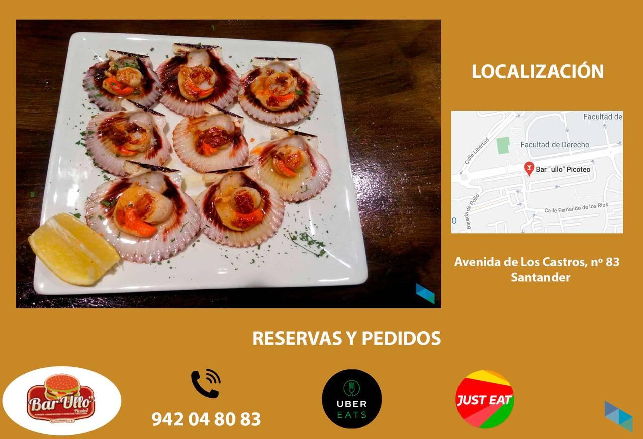 """""""The best Zamburiñas"""" Bar Ullo"""