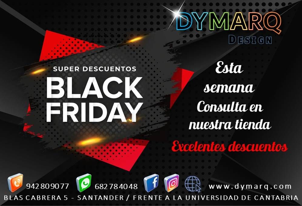 """""""Black Friday"""" Dymarq Design"""