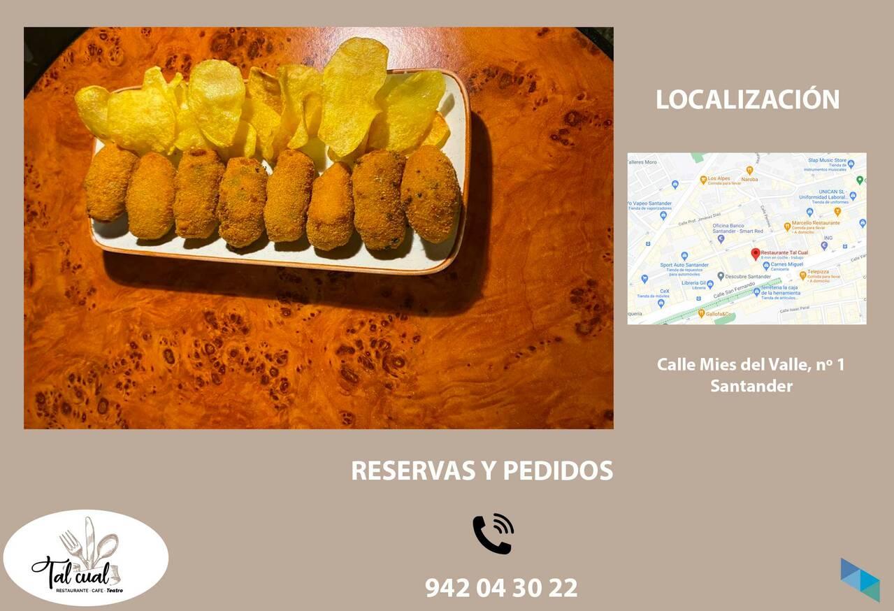 """New croquettes"" Restaurant Tal Cual"