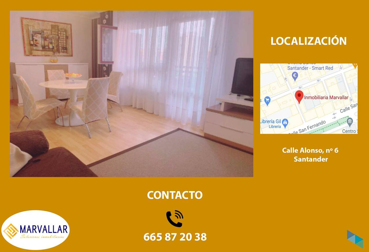 """Apartment for sale in the Center of Santander"" Marvallar Inmobiliaria [2]"