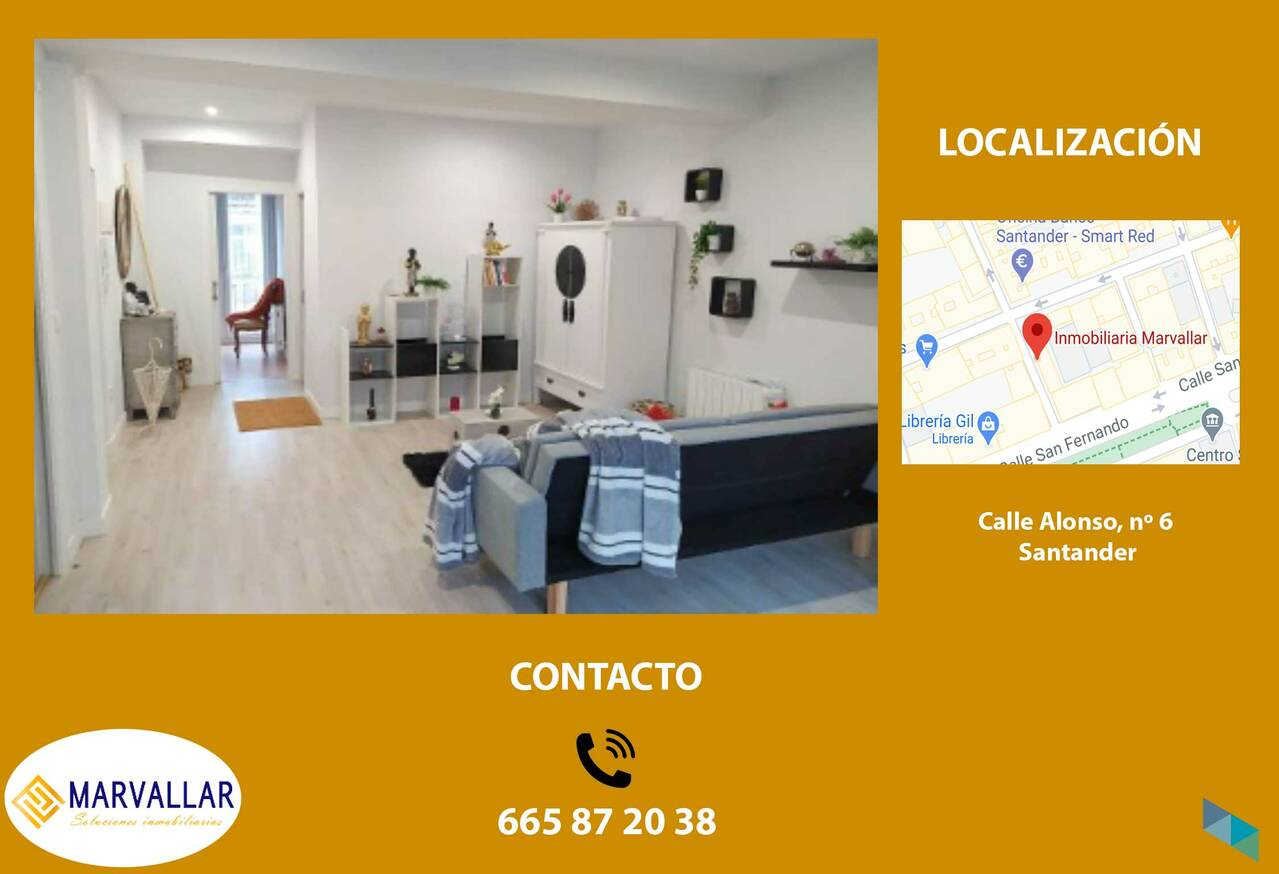 """Apartment for sale in the Center of Santander"" Marvallar Inmobiliaria"