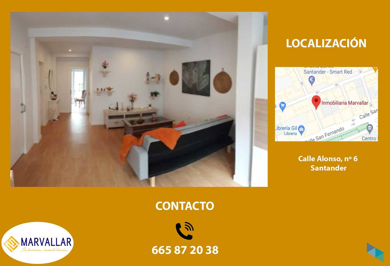 """FLAT FOR SALE IN CALLE MAGALLANES"" Marvallar Inmobiliaria"