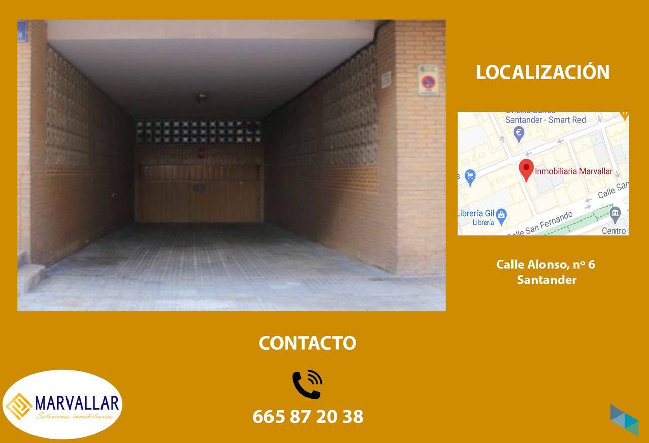 """Garage near C / Cisneros"" Marvallar Inmobiliaria"