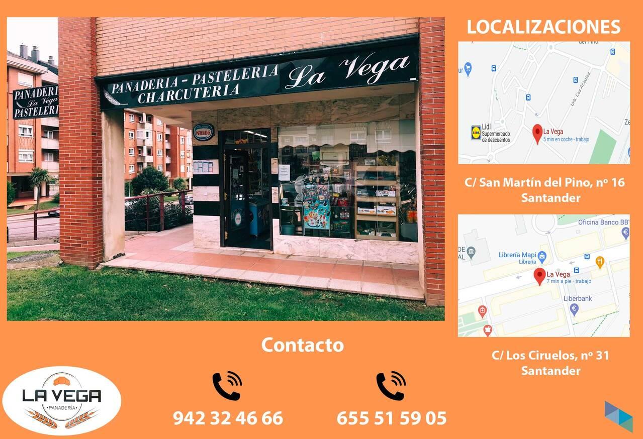 """The best artisan products"" Panadería La Vega"