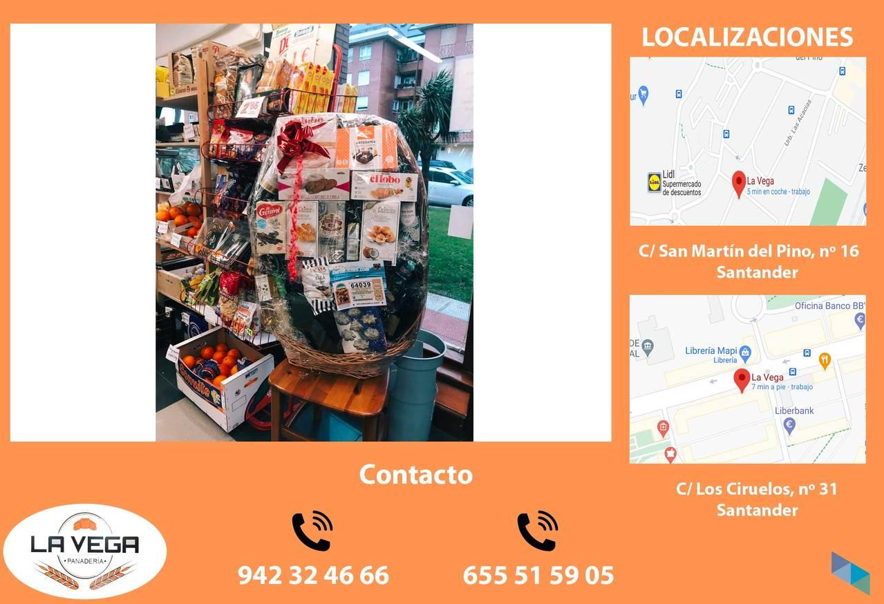 """""""Christmas baskets are back"""" Panadería La Vega"""