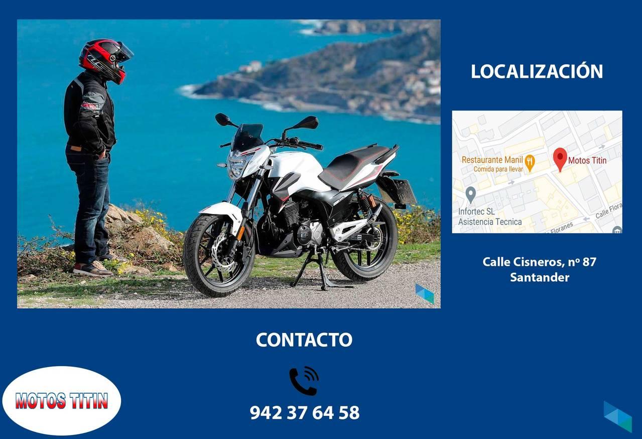 """RIEJU STRADA 125, free insurance 1 year and helmet"" Motos Titin [2] [2] [2]"