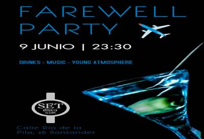 """Farewell  Party"" Set Disco SDR"