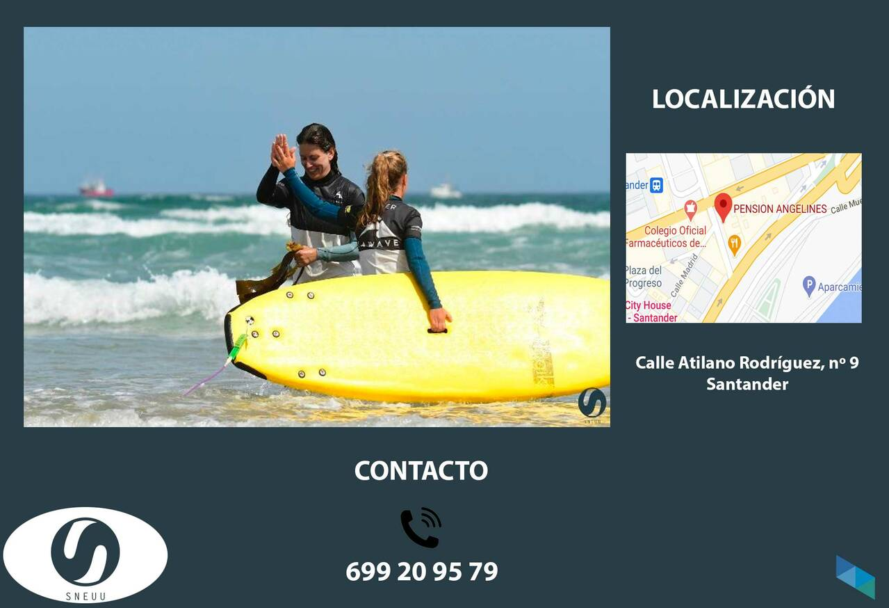 """""""Surfing is one of the great plans in Cantabria"""" Sneuu [2]"""