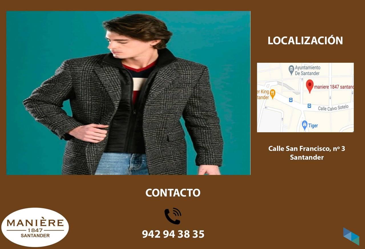 """""""Check coat with detachable vest"""" Manière 1847"""