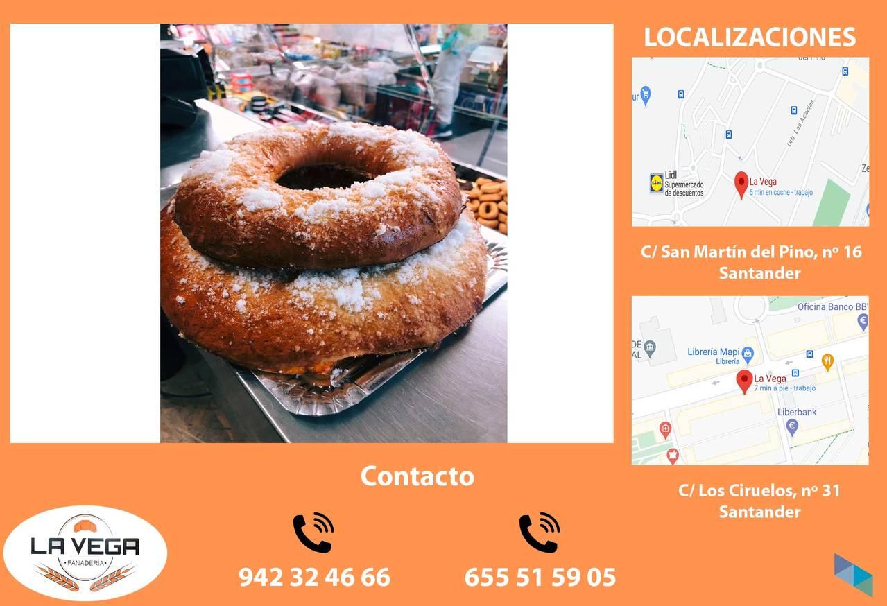 """""""Christmas is here"""" Panadería La Vega"""