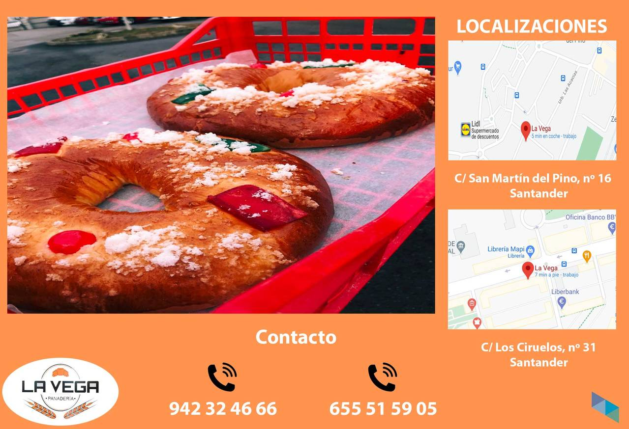 """""""Roscones attendnos"""" La Vega Bakery"""