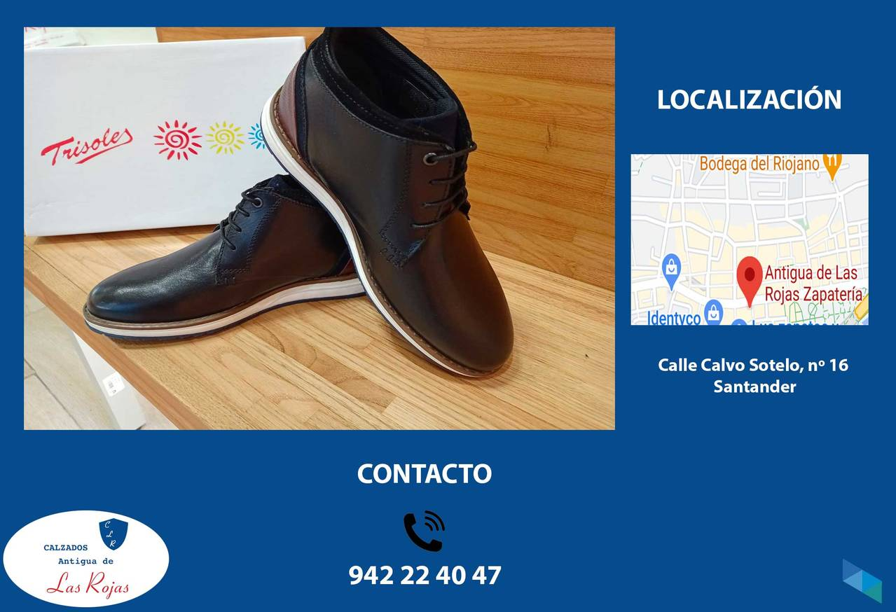 """""""Youth gentleman's boot"""" Calzados Antigua Las Rojas"""