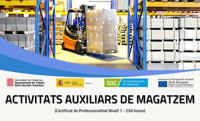 ACTIVIDADES AUXILIARES DE ALMACÉN (SUBVENCIONADO)