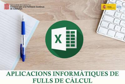 APLICACIONS INFORMÀTIQUES DE FULLS DE CÀLCUL (SUBVENCIONAT)