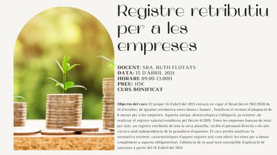 REGISTRE RETRIBUTIU PER A LES EMPRESES
