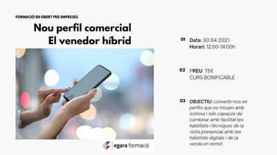 NOU PERFIL COMERCIAL :EL VENEDOR HÍBRID
