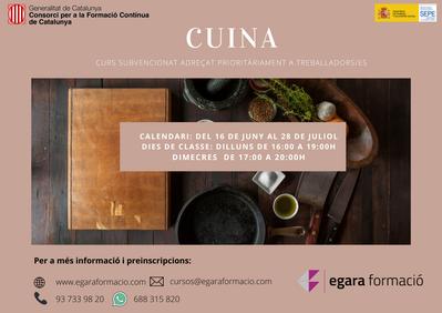 CUINA (SUBVENCIONAT)