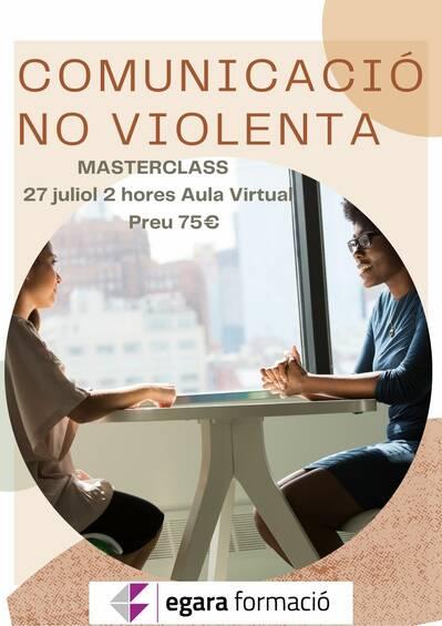 MASTERCLASS DE COMUNICACIÓ NO VIOLENTA