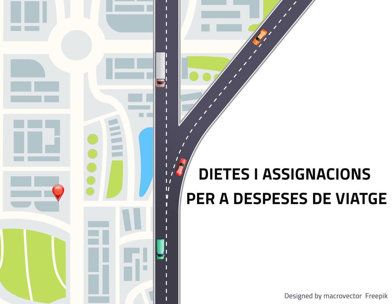 DIETES I ASSIGNACIONS PER A DESPESES DE VIATGE