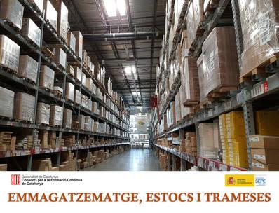 EMMAGATZEMATGE, ESTOCS I TRAMESES  (SUBVENCIONAT)