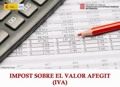 IMPOST SOBRE EL VALOR AFEGIT - IVA (SUBVENCIONAT)