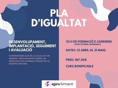 PLA D'IGUALTAT, desenvolupament, implantació, seguiment i avaluació