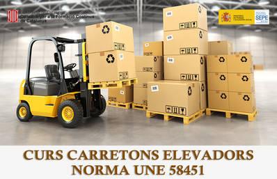 OPERACIÓ DE CARRETONS NORMA UNE (SUBVENCIONAT)