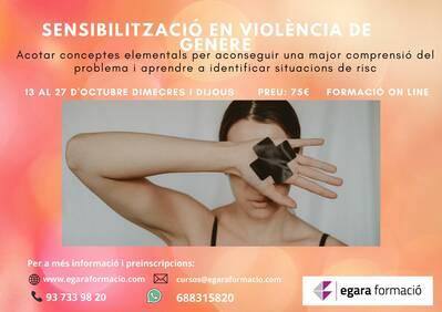 SENSIBILITZACIÓ EN VIOLÈNCIA DE GÈNERE