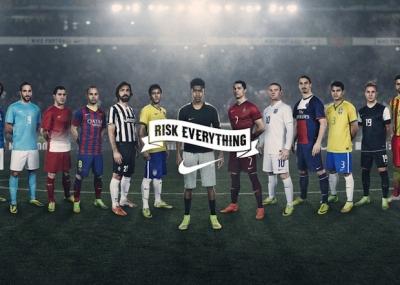 Nike Football: Winner Stays. Risk everythink