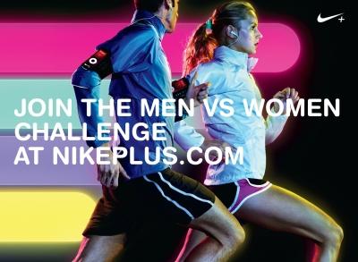 Nike 'Men Vs. Women's Running Virtual Race