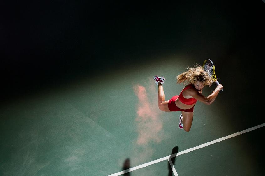 HD Tennis Women slow motion