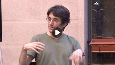 """""""Ficció a la vida, veritat a la literatura"""", amb Emma Quadrada i Raül Garrigasait"""
