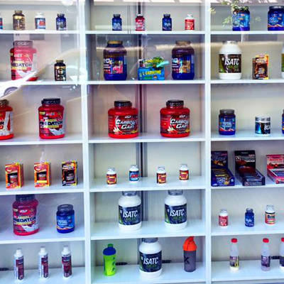 Sports shop and natural supplementation