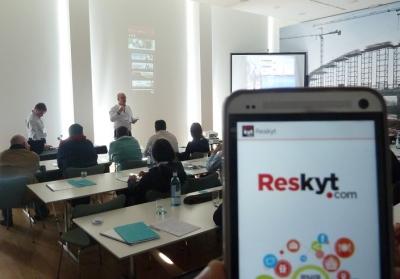 Presentación Reskyt en Zaragoza