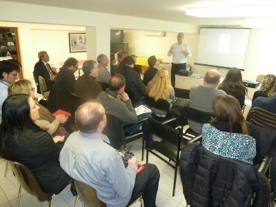 Presentación Reskyt en la Asociación de Comerciantes de Manresa