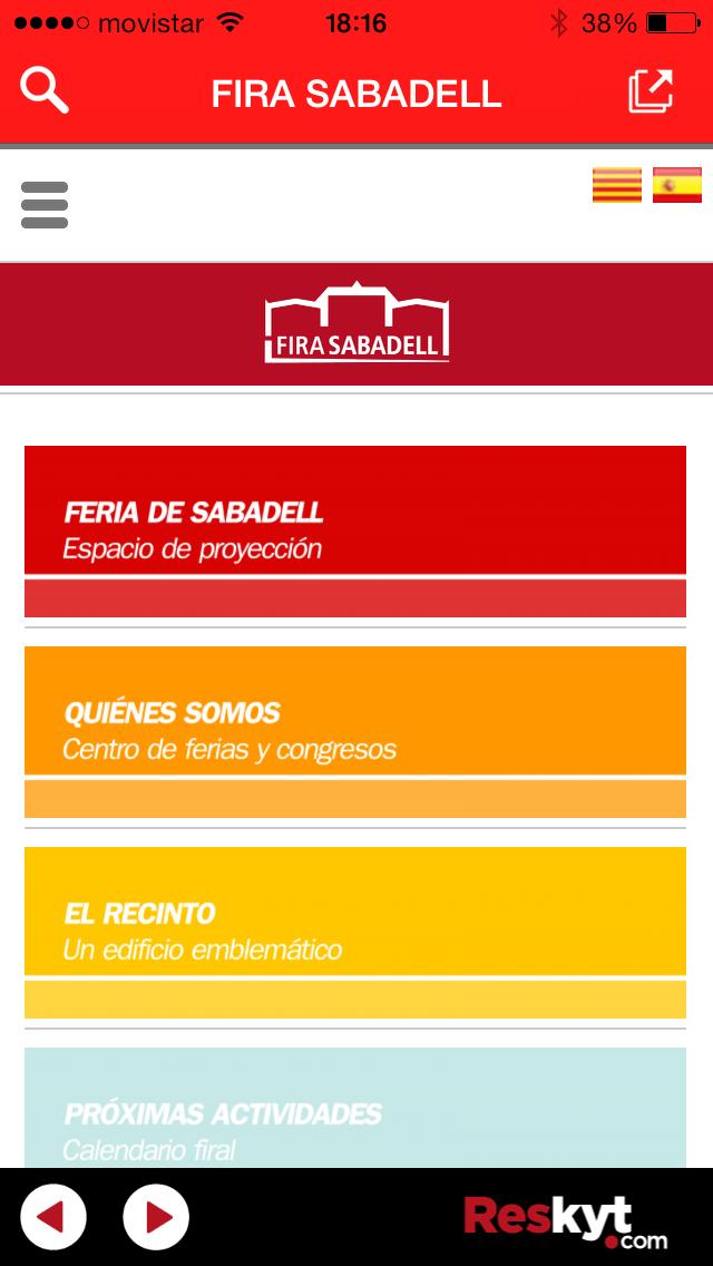 Fira Sabadell ya dispone de la webApp de Reskyt