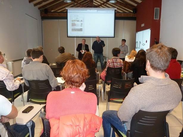 """Presentación de la App Diputación de Lleida """"Aliments del territori i tu""""."""