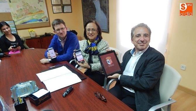El Ayuntamiento de Cabrerizos potencia la comunicación con los vecinos creando una aplicación para móviles.